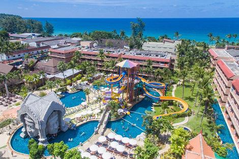 Thailande-Phuket, Hôtel Orchid Resort & Spa Phuket 4*