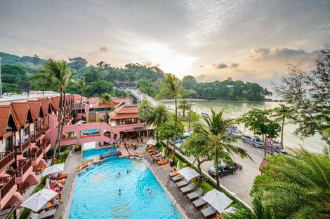 Hôtel Seaview Patong Phuket Thailande