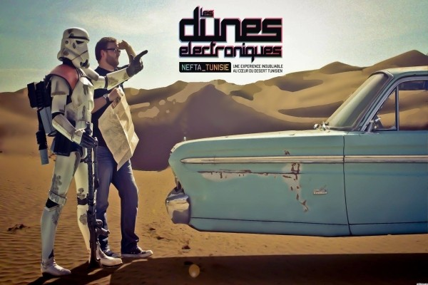 affiche Dunes Elektro - Festival Dunes Electroniques + Meridiana Hotel Festival Dunes Electroniques + Meridiana4* Djerba Tunisie