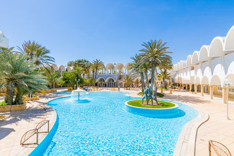 Tunisie-Djerba, Hôtel Dar Djerba Zahra 3*