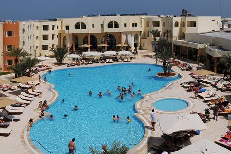 Tunisie-Djerba, Hôtel Green Palm 4*