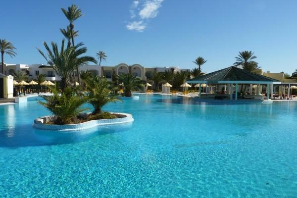 Hotel holiday beach 3 toiles djerba mehrez tunisie for Meuble 5 etoiles tunisie ezzahra