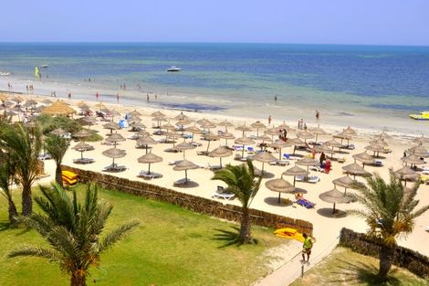 Tunisie-Djerba, Hôtel Diana Beach 3*