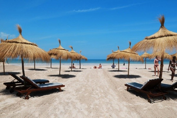 Accès plage - Green Palm Golf & Spa Hotel Green Palm Golf & Spa4* Djerba Tunisie