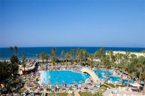 Tunisie-Monastir, Hôtel Houda Golf Beach & Aquapark 3*