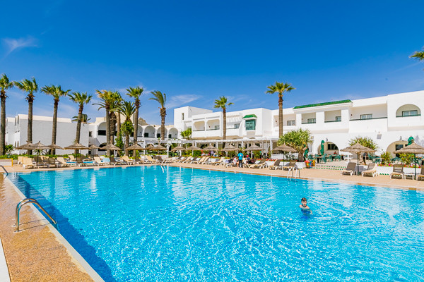 hotel maxi club hammamet beach hammamet tunisie promovacances. Black Bedroom Furniture Sets. Home Design Ideas