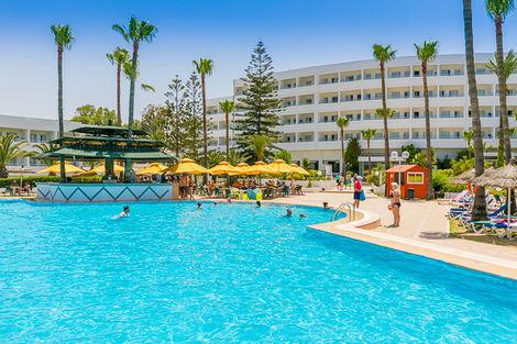 Tunisie-Monastir, Hôtel Maxi Club Tropicana 3*