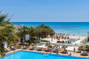 Tunisie-Tunis, Hôtel Maxi Club Hammamet Beach 3*