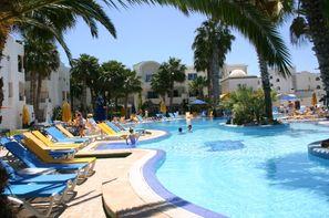 Tunisie-Tunis, Hôtel Nesrine 3*