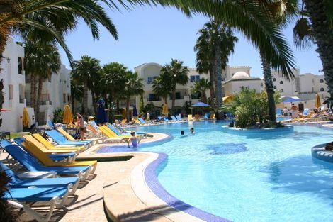 Tunisie-Tunis, Hôtel Nesrine 4*