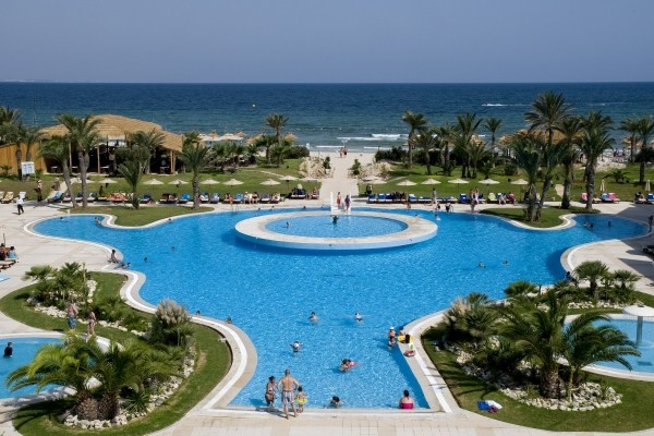 Hotel royal thalassa monastir tunis tunisie promovacances for Meuble 5 etoiles tunisie ezzahra