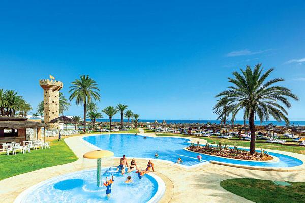 Vue piscines - Village Vacances Rosa Rivage Hôtel Village Vacances Rosa Rivage4* Tunis Tunisie