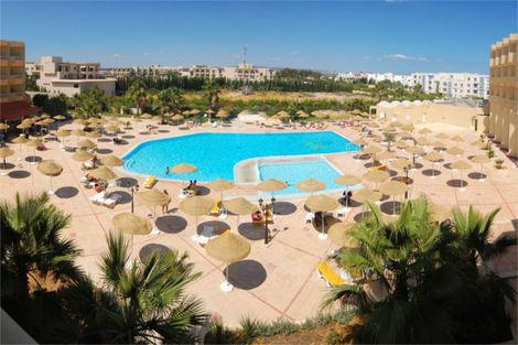 Tunisie-Tunis, Hôtel Houda Yasmine 4*