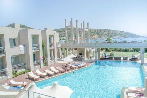 Turquie-Bodrum, Hôtel Ambrosia Hôtel 4*