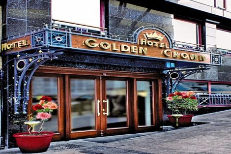 Turquie-Istanbul, Hôtel Golden Crown 3*