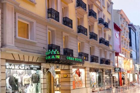 Turquie-Istanbul, Hôtel Oran 4*