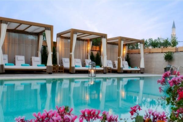 Hotel sura hagia sophia istanbul turquie promovacances - Piscine istanbul ...